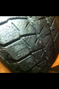 FIVE. 225/65/17. WINTER TIRES. $80.
