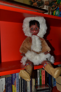 Doll: large Canadian Inuit Doll