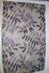 2 Panel Patterned Sheer Curtains