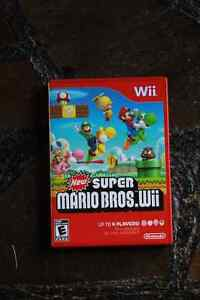 New Super Mario Bros. Wii GOOD CONDITION WITH ALL MANUALS