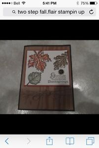 Two step fall flair by Stampin up London Ontario image 2