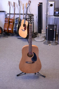 Minstrel 1970s Vintage Wild Cherry Dreadnought Body Acoustic