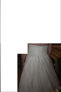 Beautiful Wedding Dress and Accessories - Rings London Ontario image 2