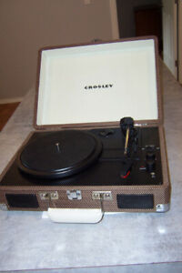 Crosly Portable Turntable