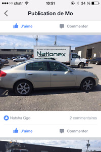 2004 Infiniti Autre Luxury Berline