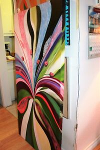 Peinture Tableau Painting Tableaux Abstract Abstraite by MILLA! West Island Greater Montréal image 7
