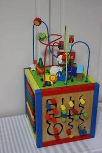 WOOD KIDS ACTIVITY CUBE West Pennant Hills The Hills District Preview
