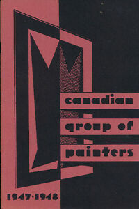CANADIAN ART CANADIAN GROUP OF PAINTERS 1947-1948 UNCOMMON