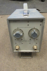 MARCONI TF2163S VARIABLE UHF ATTENUATOR. DC - 1GHz