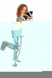 The iWALK2.0 Crutch