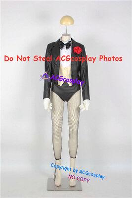 Zatanna Cosplay Costume include chest ornament and mesh socks - Zatanna Costume