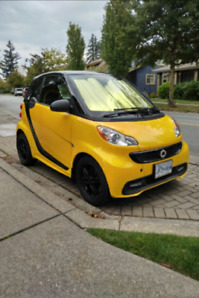 2013 Smart Fortwo City Flame Edition (2 door)