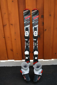 Tecno pro TEAM FLYTE 90 cm skis, TC45 bindings, ski boots 18.5