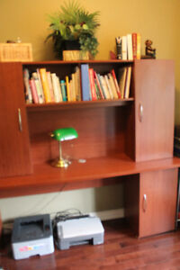 Home Office Desk with Add-on hutch Shelf included!!