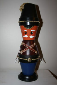 Christmas- Crafted Clay Pot Soldier