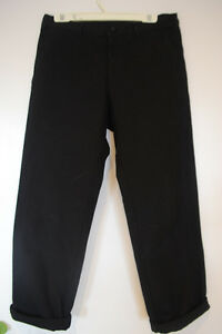 Comme Des Garcons Homme Overdyed Canvas Trousers
