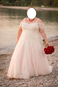 The Most Beautiful Plus Size Wedding Dress In The World