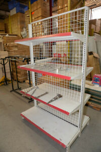 【Great Value】Used Retail Store Shelves Multi-Level on Clearance