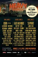 HEAVY MTL TIX/AUGUST 7,8&9 /BELOW COST/SAVE $100 on 3 Day Pass