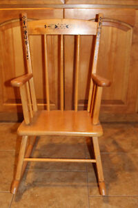 CHILDS ROCKING CHAIR EXCELLENT CONDITION