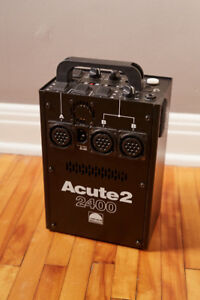 Kit Profoto Acute 2400 w/s Power Pack + 3 Acute/D4 Heads