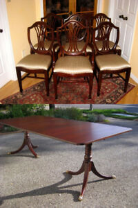 Duncan Phyfe Table Kijiji In Ontario Buy Sell Amp Save