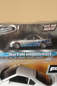 Fast and furious diecast car models