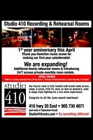 24/7 access Pro Rehearsal Room rental & more