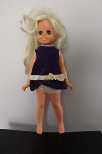 """Rare Vintage """"Velvet"""" (Hair That Grows) Doll with Box by Ideal"""