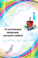 S & C Ventures INC Commercial or Residential Cleaning Services.