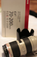Canon EF 70 - 200mm F/2.8L IS ll USM