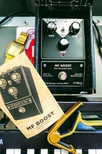 Moog MF-BOOST Pedal. Handmade in USA! $100 or TRADES