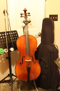 7/8 Andreas Eastman cello for sale by owner