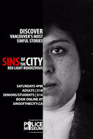 SINS of the City Walking Tours | Red Light Rendezvous