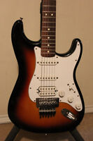 Fender Mexican Strat w/Floyd New Strings Set Up and Case