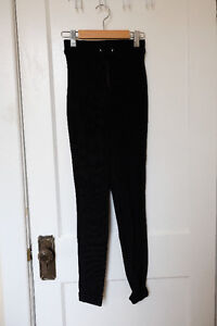 AMERICAN APPAREL HIGH-WASITED STRETCH TIGHTS
