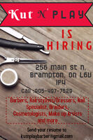 Barbers/Hairstylists/Nail specialist/Braiders/Beautician Wanted