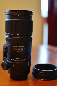Sigma APO 70-200mm F2.8EX DG OS HSM (Nikon Mount)
