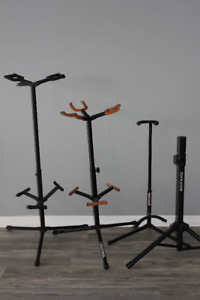 Speaker and guitar stands
