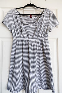 Black and white stripped dress (H&M)