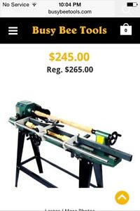 Wood lathe copying attachment