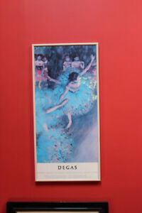 Degas - National Gallery of Canada  Exhibition Print Framed