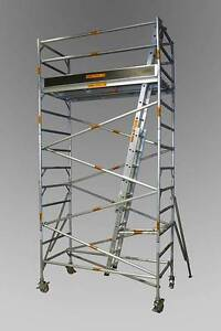 Synergy Scaffolding Aluminium Towers – (Dimensions: 1.3 x 2.5 x 4 Revesby Bankstown Area Preview
