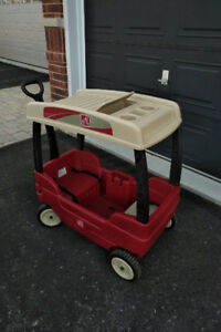 Step 2 wagon with Canopy