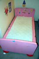 Kids bed and cot - with mattress