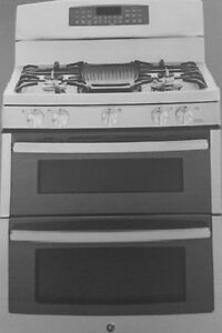 GE PROFILE DOUBLE OVEN GAS STOVE
