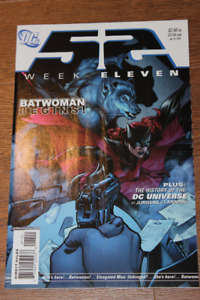 New 52 Week Eleven 11 First Batwoman Appearance! CW SHOW