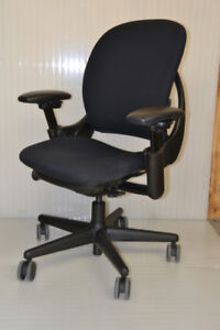 Steelcase leap chairs , Black, in excellent condition $299.99