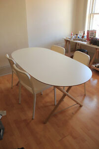 IKEA DINING TABLE AND CHAIRS FOR SALE