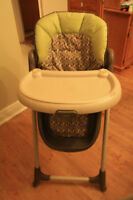Graco High Chair / Chaise haute Graco